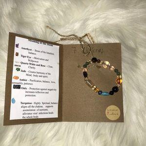 Jewelry - A beautiful hand made natural stone bracelet